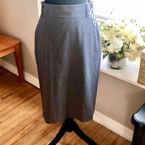 Banana Republic Grey Pencil Skirt-Size 6
